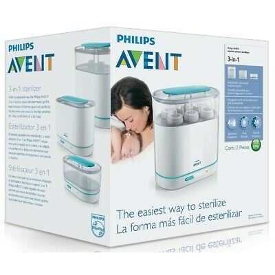 NEW Philips Avent Baby Bottle Electric Steam Steriliser 3 in 1