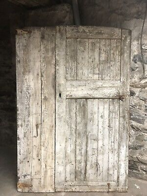 Antique Vintage Barn Door Furniture, Natural Showpiece Architectural Architect