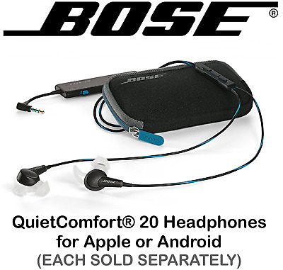 93409c4befd NEW Bose QC 20 QuietComfort Acoustic Noise Cancelling Headphones Apple ⊕  Android