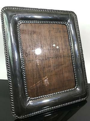 Vtg Marked 950 Sterling Silver Braided Picture Photograph Frame