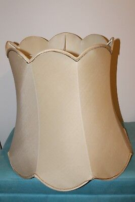 Gold vintage floor lamp shade Vic pick up
