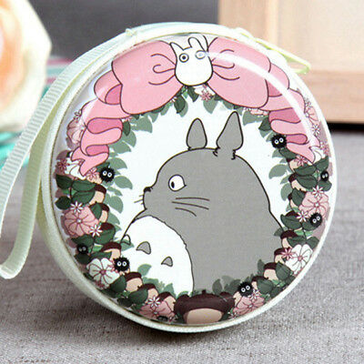 Cartoon My Neighbor Totoro Coin Purse Wallet Round Pouch Headphone Bags NO.6
