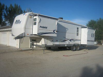 2002 Holiday Rambler Presidential Suite 36Skt 5Th Wheel Every Thing Works Its Re