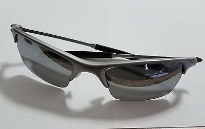 de54590dbb Oakley Razrwire Sunglasses Mercury Silver Frame Light Grey Lens + Bonus  Lens Kit