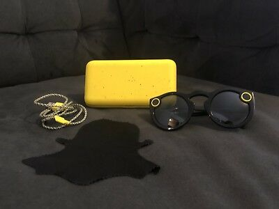Black Snapchat Spectacles Snap Camera Glasses 1st edition