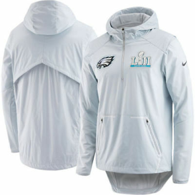 ac2513050d2 Nike Philadelphia Eagles Super Bowl 52 Lii Media Night Jacket (Men's Medium)