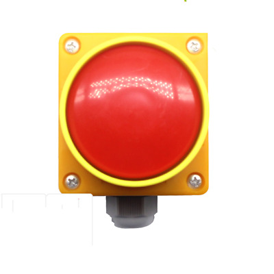 AC 660V 10A Red Sign Weatherproof Emergency stop button actuator Switch New