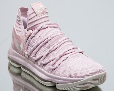 dce97058b61 Nike Zoom KD10 Aunt Pearl Men New Kevin Durant Pink Basketball Shoes AQ4110- 600