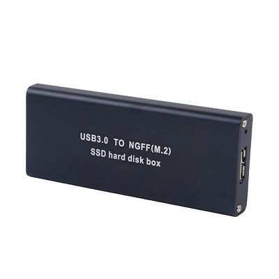 M.2 SSD USB 3.0 to NGFF Hard Disk Box Enclosure Case Adapter Connector Set