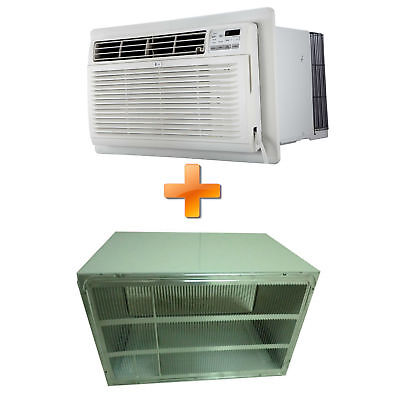Combo Offer LG LT1236CER 11,500 BTU 230V Through-the-Wall Air Conditioner wit...
