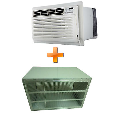 Combo offer LG LT1216CER 11,500 BTU 115V Through-the-Wall Air Conditioner wit...