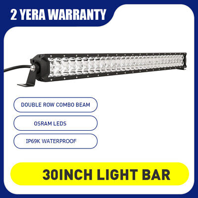 Pair 7inch 98000W Cree LED Driving Lights Spot Round White Truck Offroad 4x4 SUV