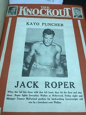 The Knockout 1938 52 Issues Bound In Very Good Condition From Famous Collection
