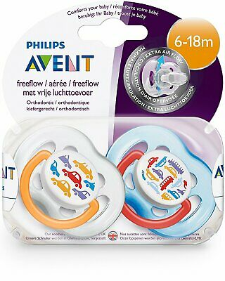 NEW Philips Avent Baby Soother BPA Free Fashion Design 6 - 18m