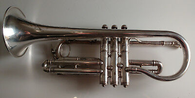 Chicago made Holton New Proportion silver cornet - LB - Couturier model
