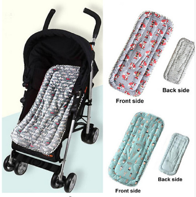 Baby Infant Stroller Pram Pushchair Cushion Mat Soft Cotton Liner Thick Seat Pad