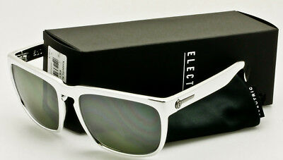 14d0fccf9a ELECTRIC KNOXVILLE XL SUNGLASSES Black Chrome Frame-Silver Chrome Mirror  Lens