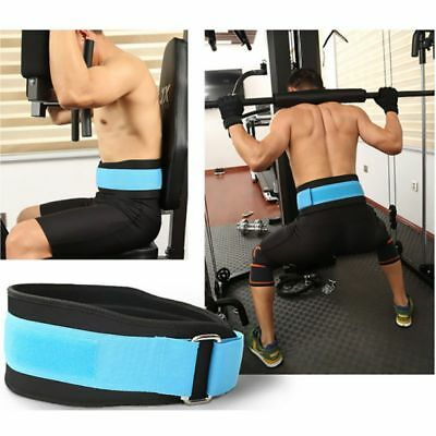 Nylon Weight Lifting Squat Belt Lower Back Support Gym Fitness Training M L XL