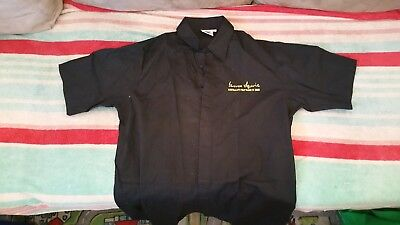 James Squire mens shirt and apron size L Large Never been worn