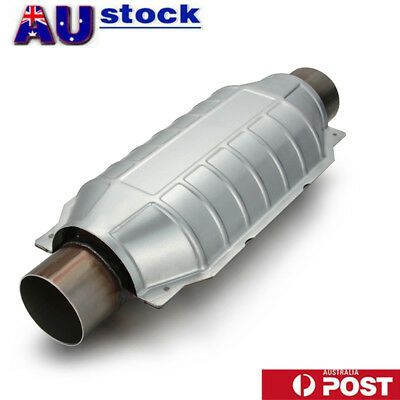 "High Quality 2.5"" Cat Converter Stainless Steel Body High Flow Catalytic 91006"