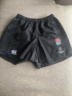 Canterbury England Sevens Rugby Shorts Size 36 - Player Issue