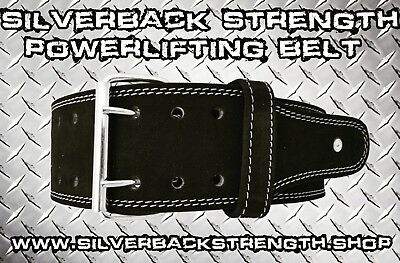 Powerlifting/ weightlifting belt. Silverback Strength limited edition.