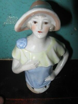 Art Deco half doll