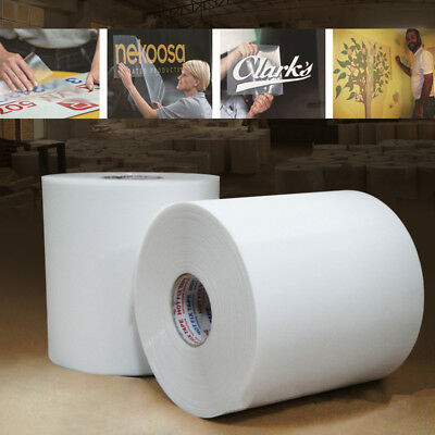 """High Tack Clear Application Transfer Tape for Sign Craft Vinyl Roll 12.6"""" Wide"""