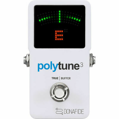 TC Electronic PolyTune 3 mint Poly-Chromatic Tuner with Built-in Buffer
