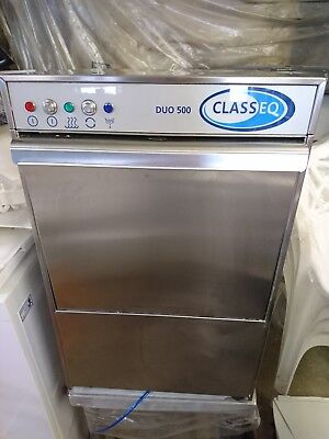 Classeq Duo 500 Commercial Dishwasher New