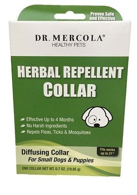 Herbal Flea and Tick Collar for Small Dogs & Puppies