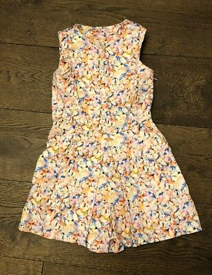 Next Girls Patterned Playsuit. Superb Condition. Age 7