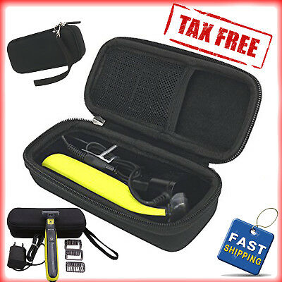 Hard Case For Philips Norelco One Blade Hybrid Electric Trimmer Shaver Qp2520/70
