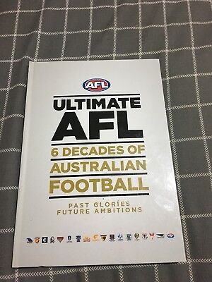 60 Years Of AFL Book Incl 12 DVD's Of Highlights