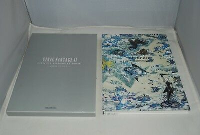 FINAL FANTASY XI ( 11 ) Official Memorial Book w/ case Japan import FF11 SQUARE