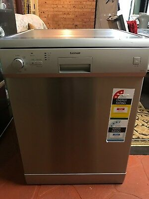 Euromaid DR14S Freestanding Dishwasher Stainless Steel