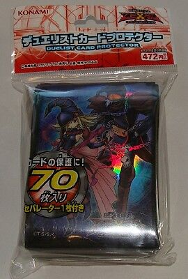 Yugioh Konami Official Card Sleeves, GaGaGa Japanese sealed