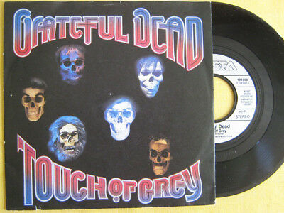 """GRATEFUL DEAD - TOUCH OF GREY   Single  TOP   !""""""""!""""""""!""""""""!"""
