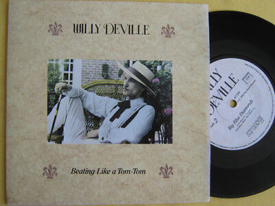 """WILLY DEVILLE - BEATING LIKE A TOM-TOM   7"""" Single  TOP   !""""""""!""""""""!""""""""!"""