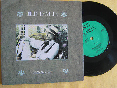 """WILLY DEVILLE - HELLO MY LOVER   7"""" Single  TOP   !""""""""!""""""""!""""""""!"""