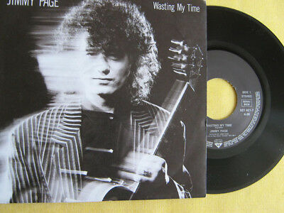 """JIMMY PAGE - WASTING MY TIME   7"""" Single  TOP   !""""""""!""""""""!""""""""!"""