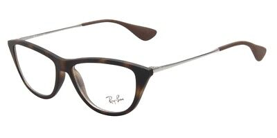 dae48f895d44d Authentic Ray Ban Eyeglasses RB7042 5365 Rubber Havana Frames 52M Rx-ABLE