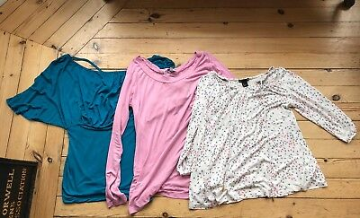 maternity tops bundle size 10/small