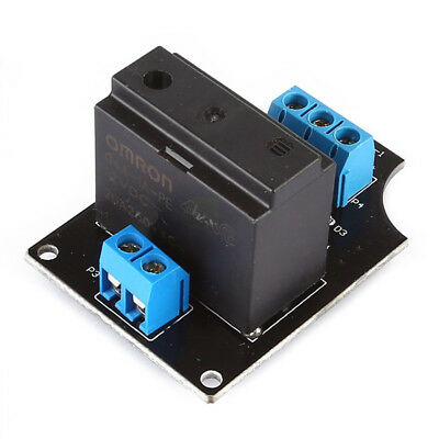 12VDC 20A 250VAC 1 Channel G4A-1A-PE OMRON Solid State Relay Module For Ard S1K3