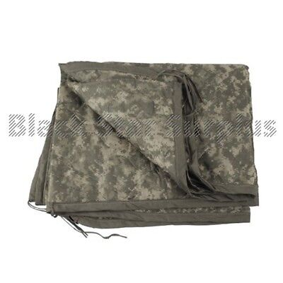 Nylon Woobie Essential Military Blanket in ACU Digital Camo  Wet Weather Liner