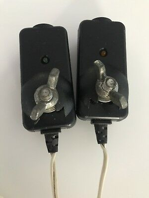 Liftmaster Chamberlain #41A5034 infrared safety sensor photo eyes, USED TESTED