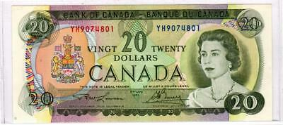 1969 Bank of Canada $20 Note p.89b  - Uncirculated