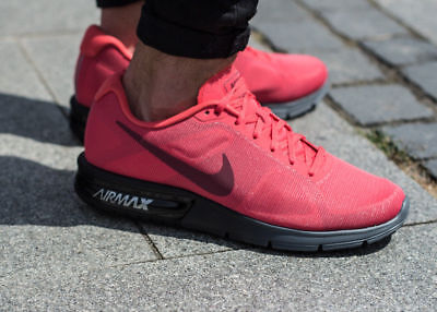 a97eb03f743 ... hot nike air max sequent ember glow red mens trainers shoes uk 1012  e4757 091e9