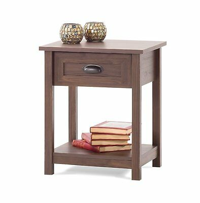 Childcraft Abbott Night Stand, Rich Walnut