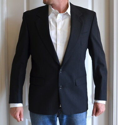 Classic Thomas Churchill Pure Wool Suit Coat - Size 44LG, Slim Fit